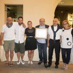 Risorante Anna - Premiazione 50° anniversario