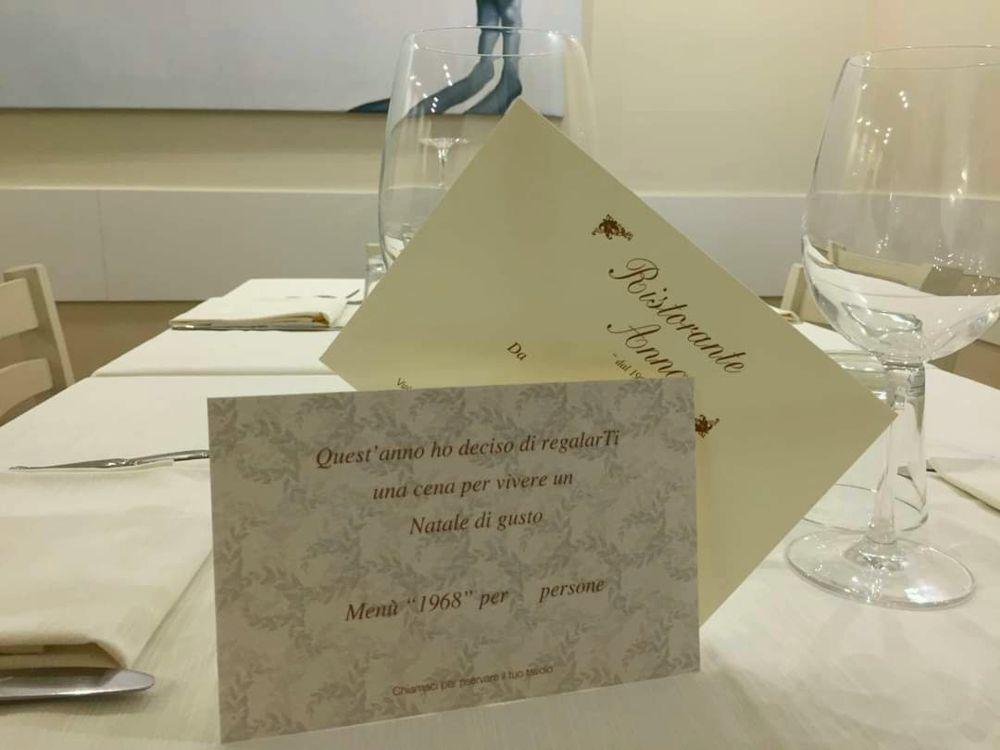 Regala una cena - Ristorante Anna Forlimpopoli